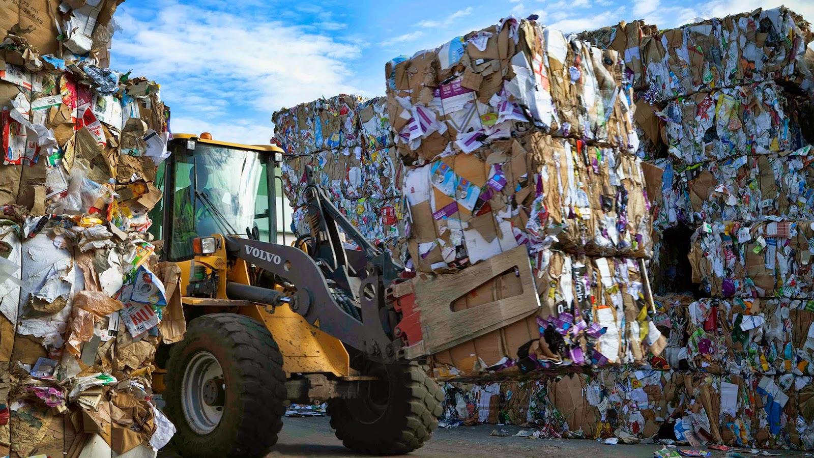 Где находятся заводы по переработке мусора